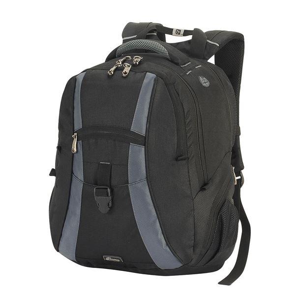 حقيبة ظهر للحاسوب جاوا 5860 أسود/ رمادي داكن