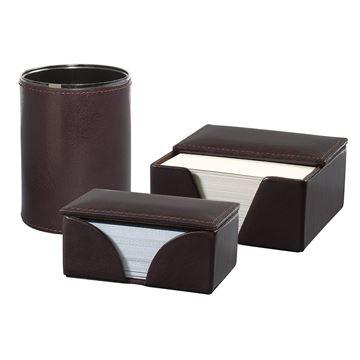 Изображение  16.704.141 Кожаный набор для стола