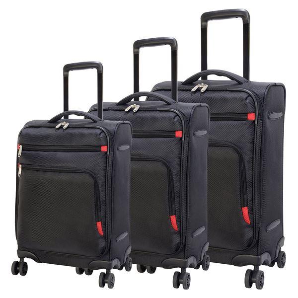 حقيبة سفر كوبنهاغن خفيفة الوزن   4205-72  أسود