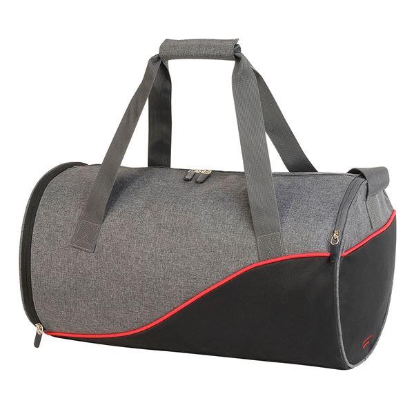 حقيبة رياضية يومية –أندروس 1586 ميلانج فحمي رمادي/ أسود/ أحمر