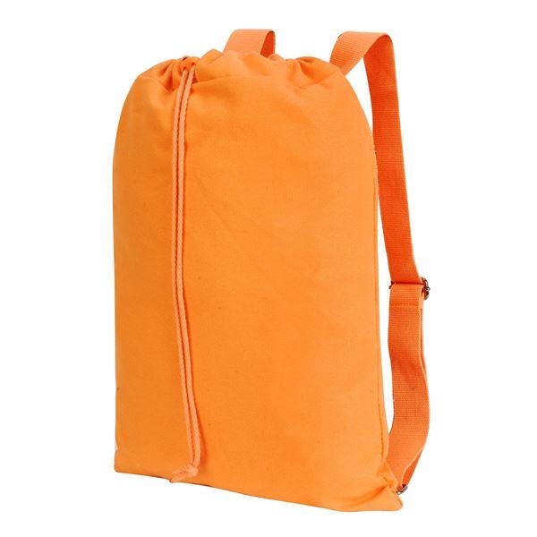 """Изображение 5897 Рюкзак на шнурке """"Шеффилд"""" из хлопчатобумажной ткани  Стираный """"осенний клён"""""""