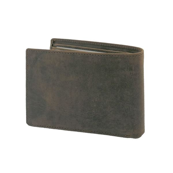MEN WALLET, CRAZY HORSE LETHER 13.418.441 Brown