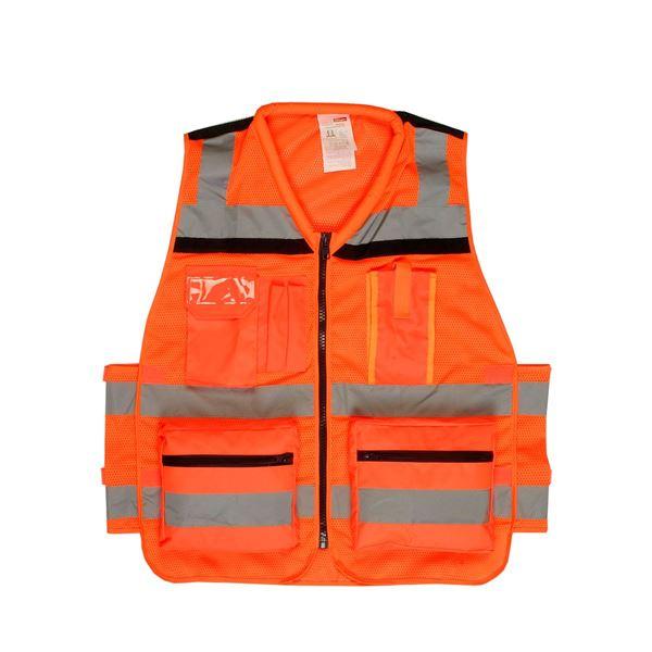 2577 VEST Hi-Viz Orange