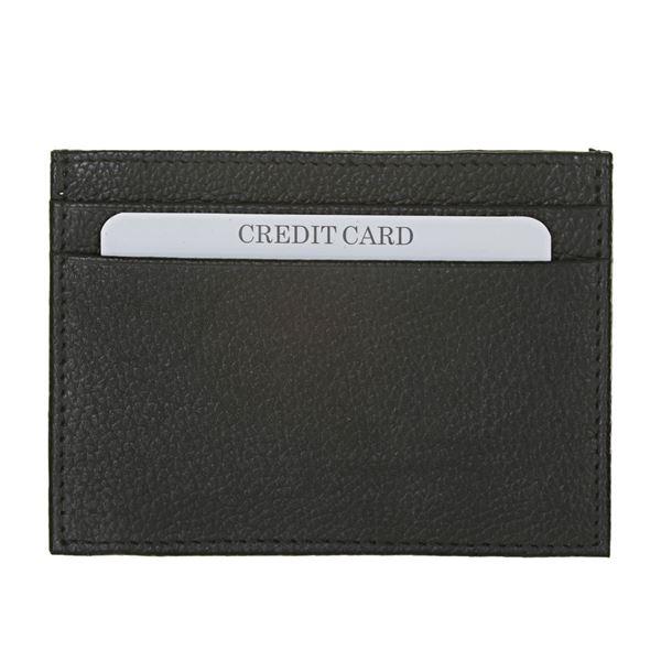 13.411.300 NAPPA LEATHER CARD HOLDER Black