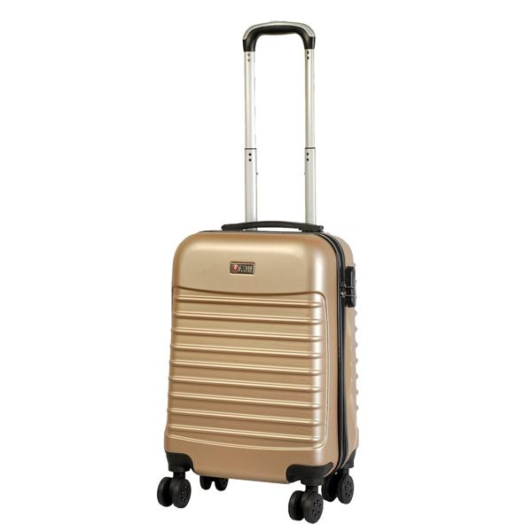 6300 TROLLEY SUITCASE Gold