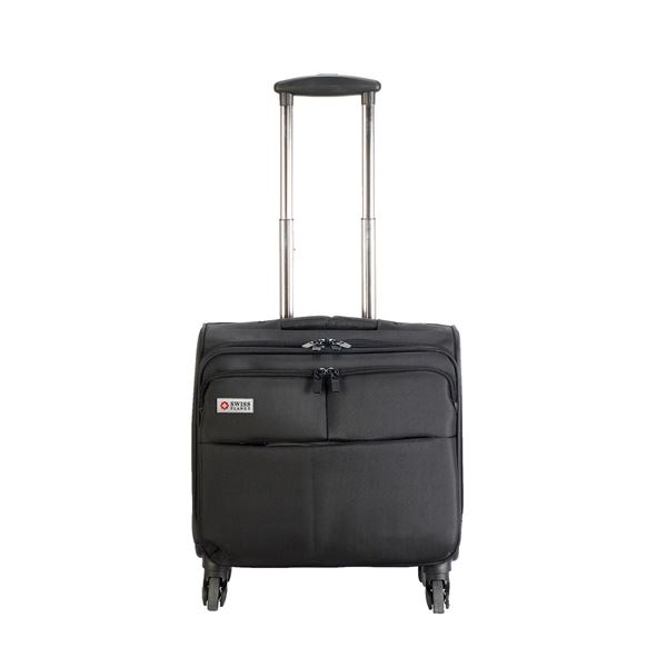 Изображение 6806 WARWICK OVERNIGHT BUSINESS TROLLEY Black SWISS PLANET
