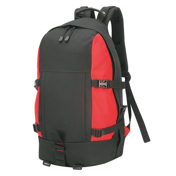 """حقيبة الظهر الصغيرة  """"غران باراديسو"""" 1788 أسود/أحمر"""