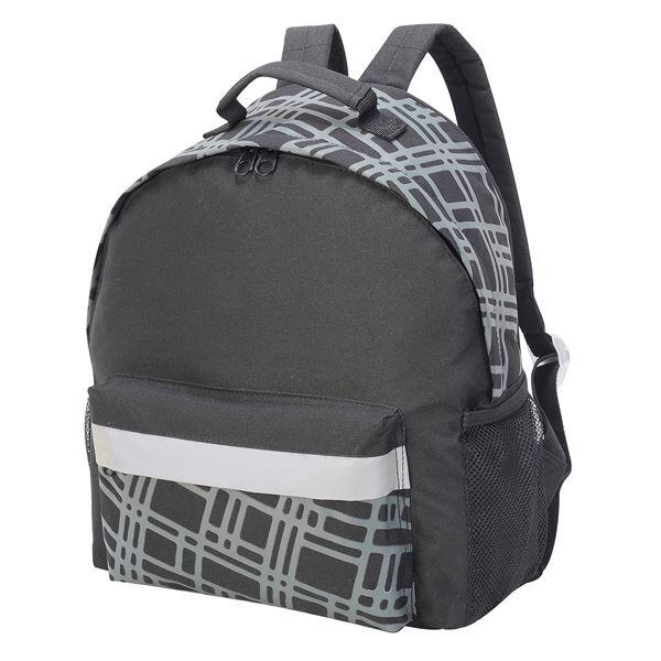 حقيبة الظهر للأطفال 1195 أسود/رمادي داكن