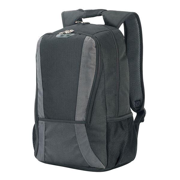حقيبة ظهر للحاسوب مترو 5325 أسود/رمادي داكن