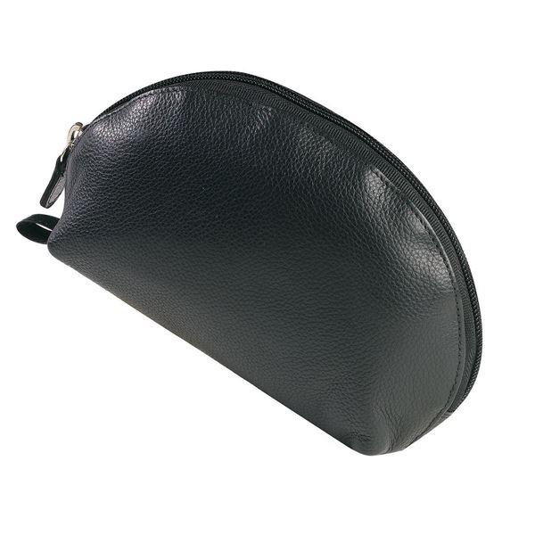 15.611.310 حقيبة للماكياج من الجلد الطبيعي المتبوغ NAPPA  أسود