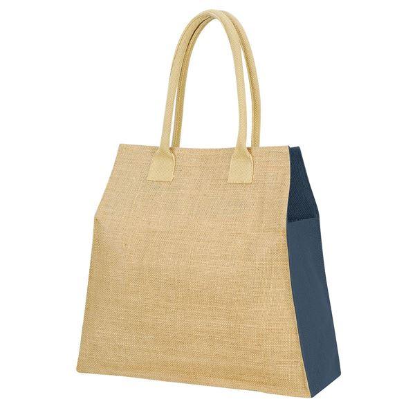 """حقيبة من ألياف الجوت  """"مومباي"""" 1109 طبيعي/بحرية"""