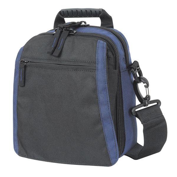 حقيبة جانبية مع خلية للمسدس 1276 أسود/ بحرية
