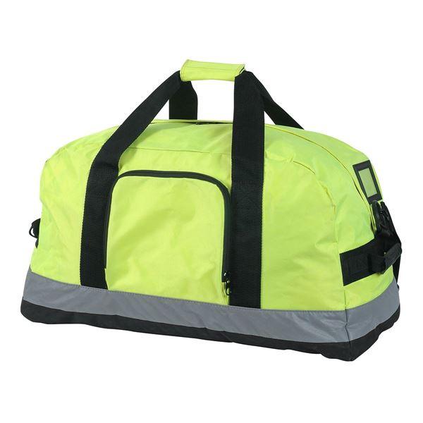 """حقيبة يد مخصصة لملابس العمال  """"سياتل"""" 2518 أبيض شديد الرؤية"""