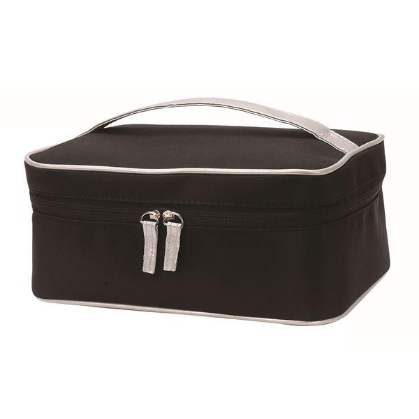 حقيبة مكياج/ اغتسال فينا 4838 أسود/ فضة
