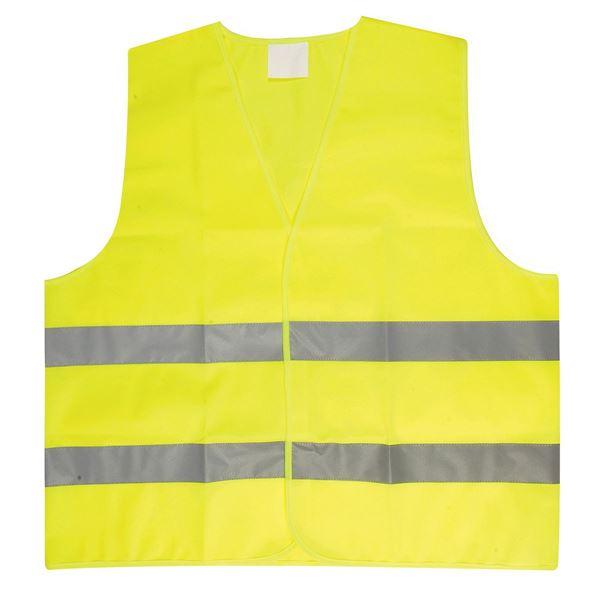 תמונה של אפוד זוהר לרכב 2591 צהוב זוהר