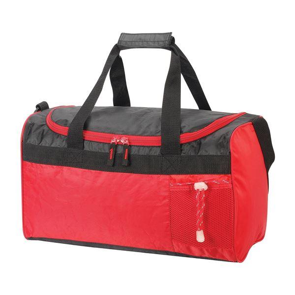 حقيبة سفر/سبورت كان 2440 أحمر/ أسود