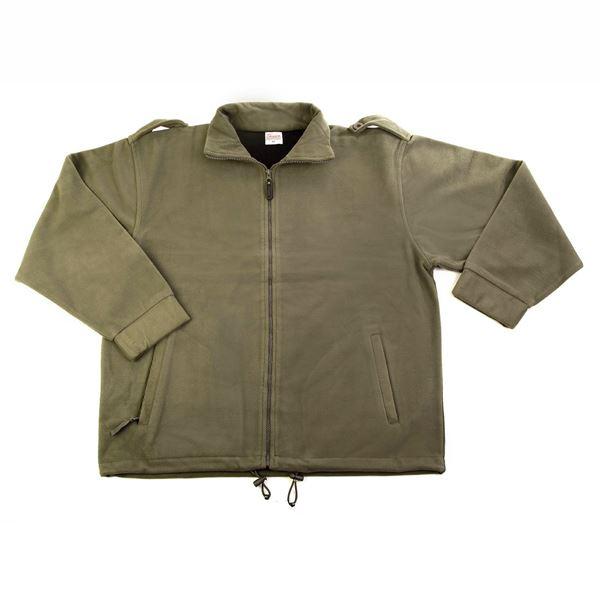 Изображение Флисовая куртка  10-04 хаки