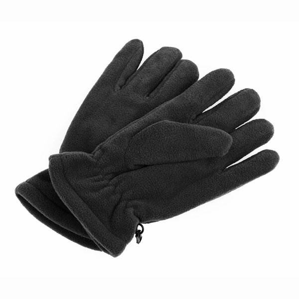 FLEECE GLOVES 1604 أسود