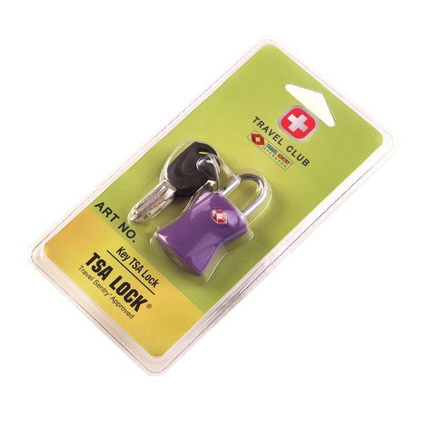 Изображение  3320 Замок для чемодана Фиолетовый