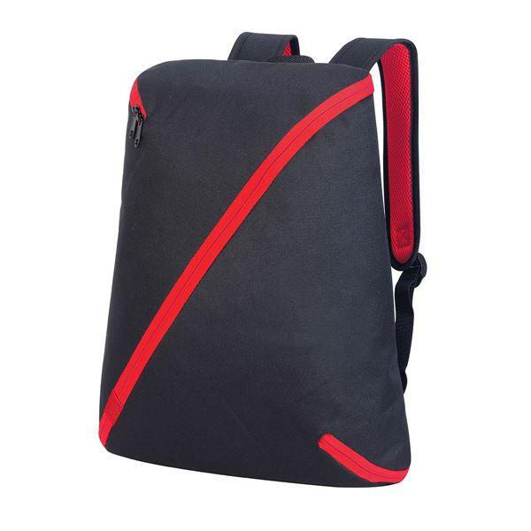 حقيبة ظهر ناجويا 7657 أسود/أحمر