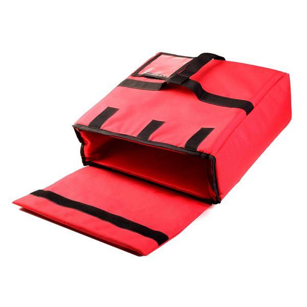 תמונה של צידנית למשלוחי פיצה 89-1006 אדום/שחור