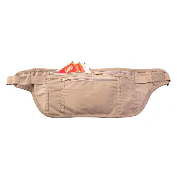 حزام فضي مخفي 3301 طبيعي