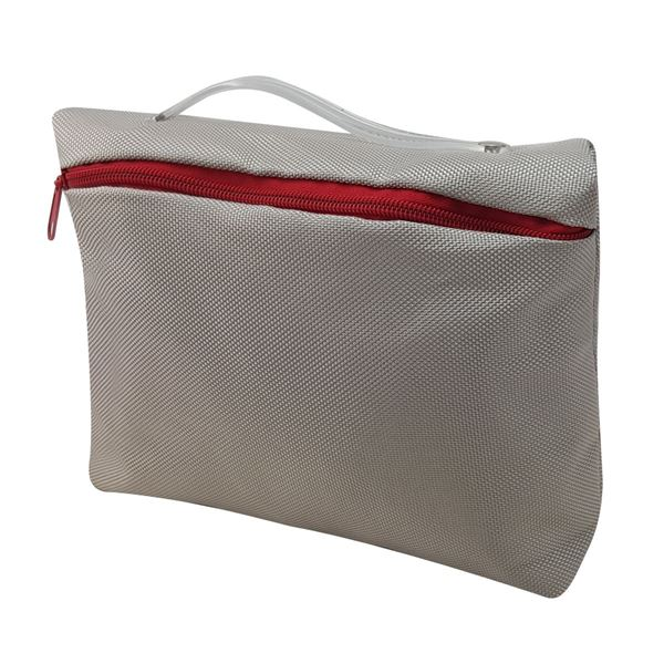 Brugge Toiletry Bag 2483 Silver