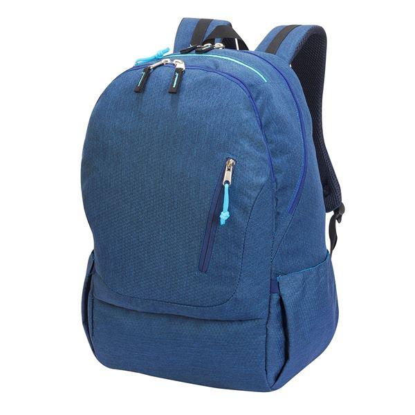 """Изображение 5812  Рюкзак для ноутбука """"Кёльн""""  меланж синий деним"""