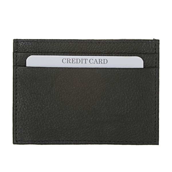13.411.300 NAPPA LEATHER CARD HOLDER Black
