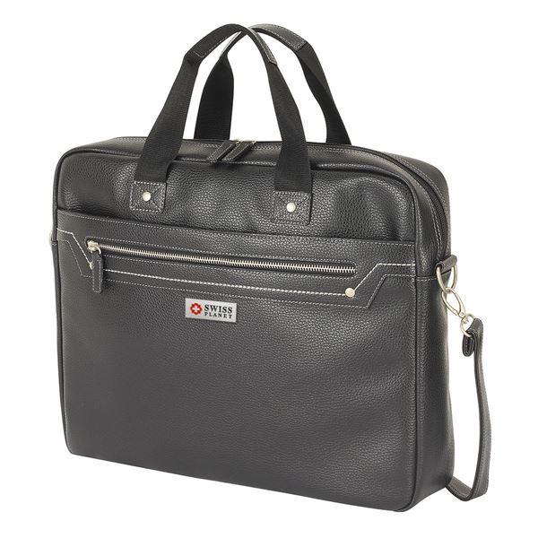 حقيبة رسمية للكمبيوتر المحمول من بولي يوريثان 11.219.910 أسود