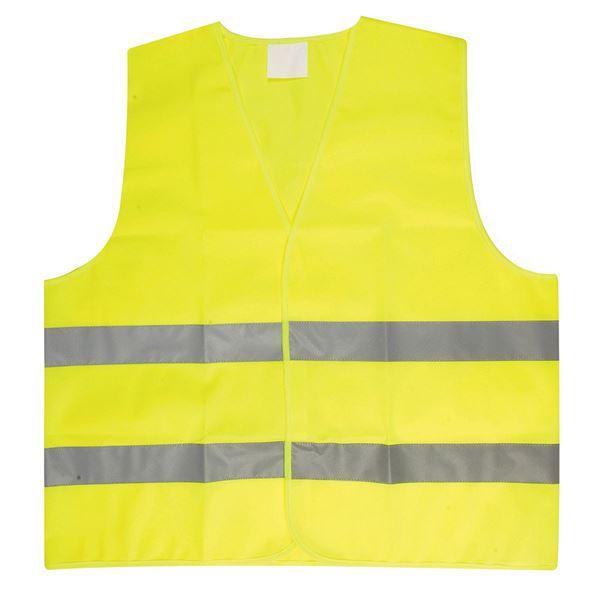 תמונה של אפוד זוהר לילד  2596-43 צהוב