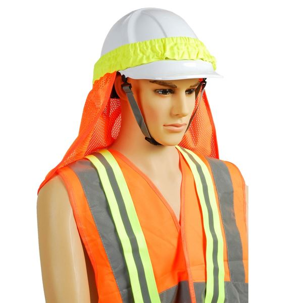 2583 HELMET COVER Hi-Vis Orange