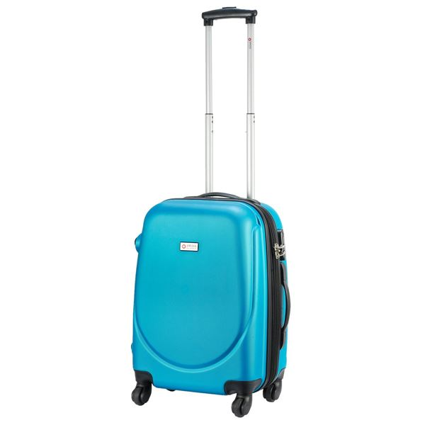 41-6305-20 SEOUL TROLLEY SUITCASE Turquoise