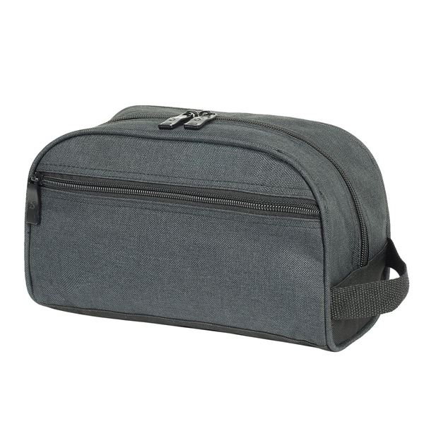 4451 MALTA TOILETRY CASE Black Melange