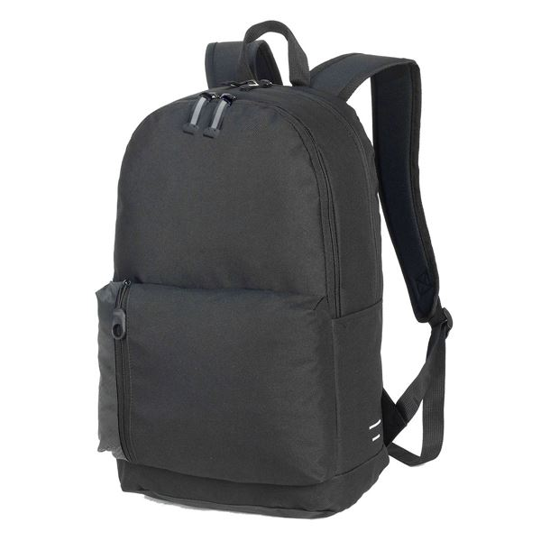 7687 PLYMOUTH STUDENT BACKPACK Black
