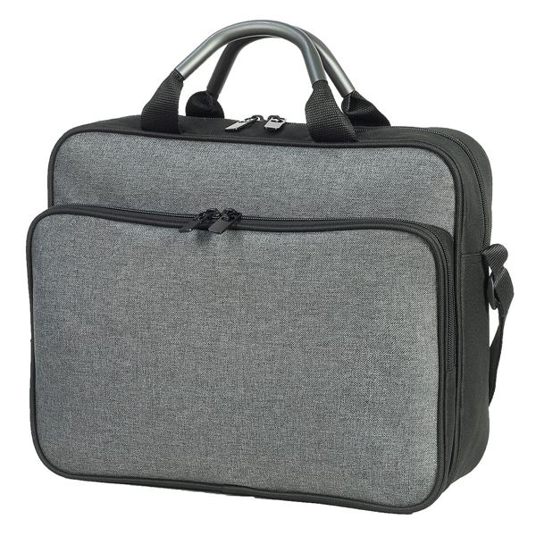 1551 NANCY CONFERENCE BAG Melange Grey/ Black
