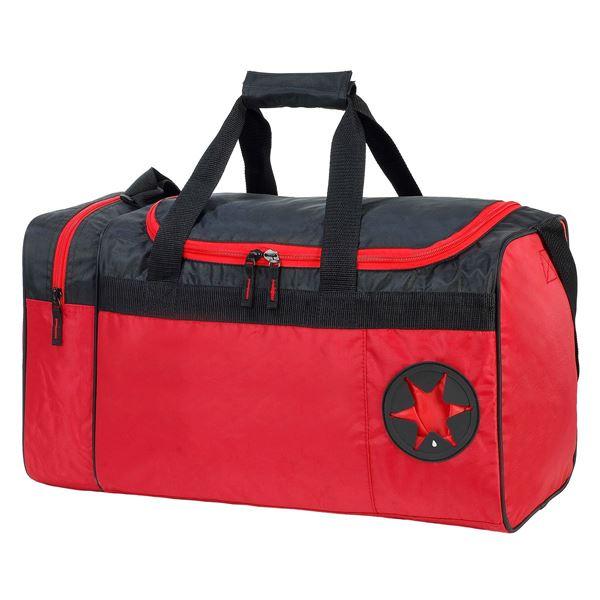 """حقيبة يد رياضية  """"كان"""" 2450 أحمر/ أسود"""