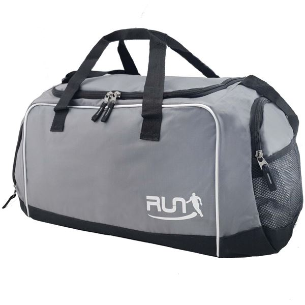 Изображение 88-1586 RUN SPORTS HOLDALL Grey/ Black/ White