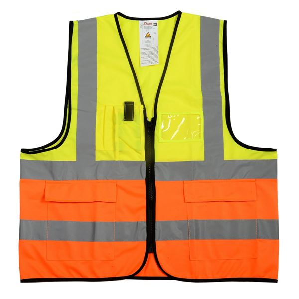 2576 VEST Hi-Vis Yellow/ Hi Vis Orange