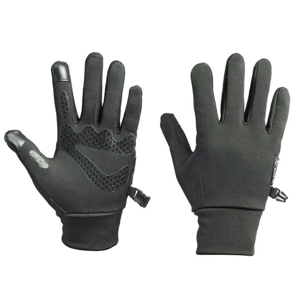 16-05 FLEECE GLOVES  Black