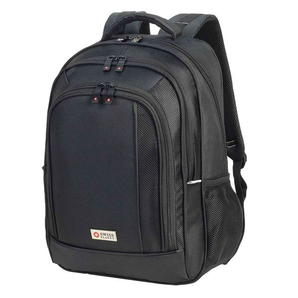 SWISS PLANET FRANKFURT BACKPACK  41-5818 أسود