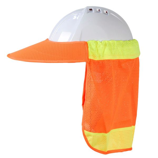 2584 HELMET COVER Orange Hi-Vis